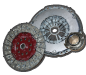 spinning complete car clutch system