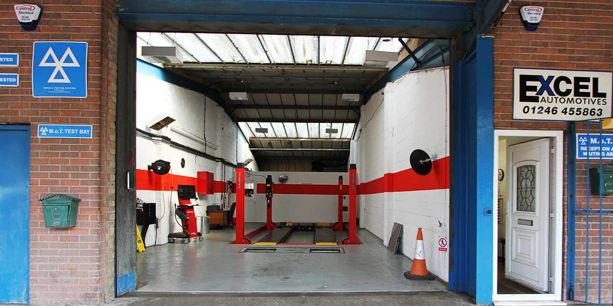 excel automotives chesterfield mot test station
