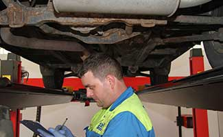 brand new mot test bay fuilly functiional